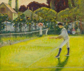 Theodore Wendel, 'Tennis Player (Dan Wendel)', 19th -20th Century