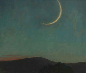 John Beerman, 'Mountain, New Moon', 2014