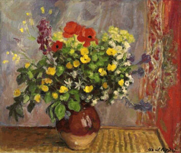 Albert André, 'Vase of Flowers'