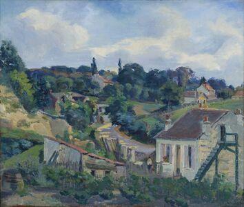 Jean Baptiste Armand Guillaumin, 'La route tournante', ca. 1877