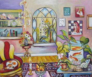 Zoa Ace, 'Interior with Fishbowl', 2020