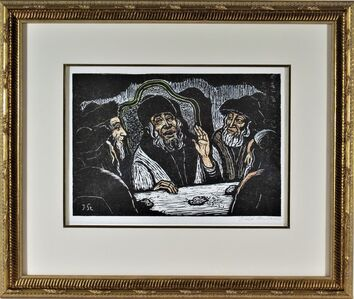 Jacob Steinhardt, 'Rabbi's Communion With God', ca. 1960
