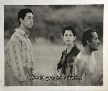 Michal Rovner, 'Large Michal Rovner Photograph, Photo Print on Paper Israeli Master', 2000-2009
