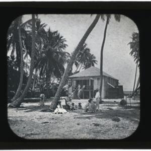 Augustus Le Plongeon, 'McDonald house, St. George's Cay', 1873-1924