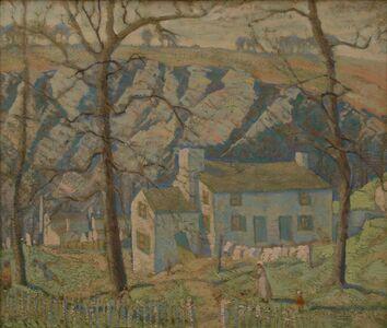Ross Braught, 'Blue Ridge', 1921