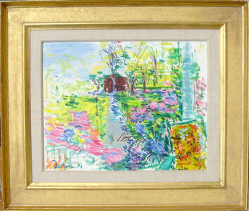 Dimitrie Berea, 'Our House and Garden, Smithtown', 1974