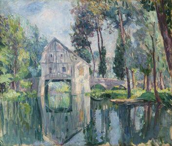 Henri Lebasque, 'Le moulin (probablement vers Compiègne)', ca. 1907