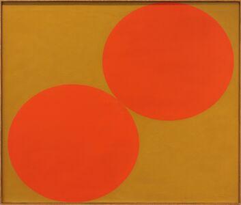 Oli Sihvonen, 'Duo, Red and Ochre', 1962