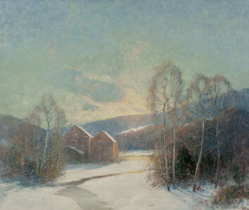 Ernest Albert, 'Some Old Red Barns'