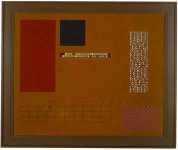Andrew Christofides, 'Untitled yellow painting number 3', 1989