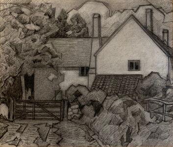 Robert Bevan, 'Hart's Farm, Clayhidon, Devon', ca. 1917