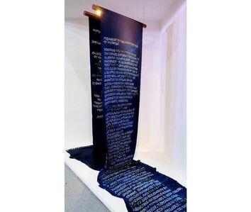 Reena Saini Kallat, 'Verso-Recto-Recto-Verso', 2017