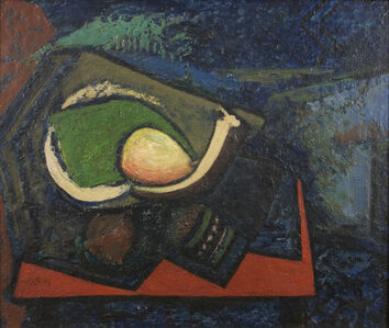 Alfred H. Maurer, 'Cubist Still Life with Pear', ca. c. 1930-1932