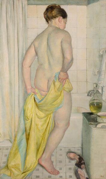 John Koch, 'Woman Bathing'