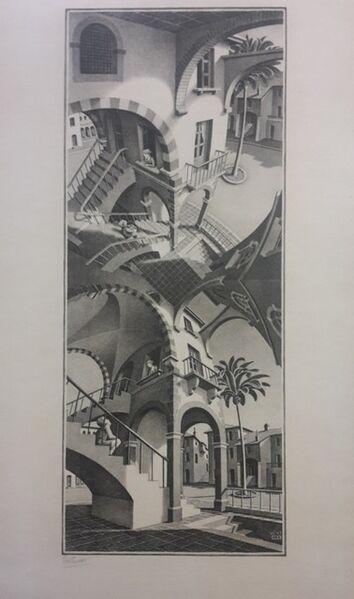 Maurits Cornelis Escher, 'Up And Down', 1947