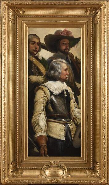 Horace Vernet, 'L'Arrestation des Princes', 1828