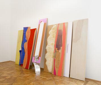 Jessica Stockholder, 'Decals Roam to Move', 2015