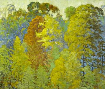 Ross Braught, 'Autmn Foliage', ca. 1925