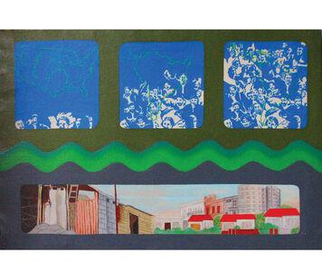 Elda Cerrato, '¿Pasa lo mismo en el movimiento que en el mapa?', 1976