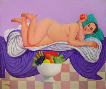 Faisel Laibi Sahi, 'Untitled 4', 2017