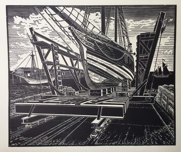 James Dodds, 'New Planks on the Lewis R French, Rockland'