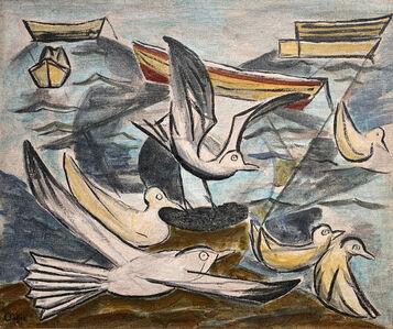 Oliver Chaffee, 'Seagulls', 1943