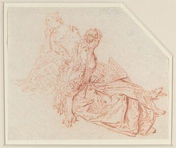 Nicolas Lancret, 'Two Seated Ladies'
