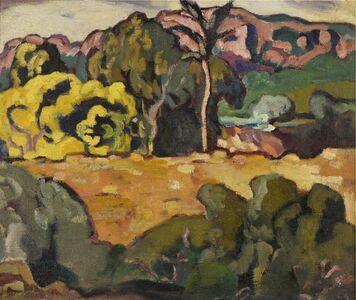 Louis Valtat, 'Paysage du midi au palmier', ca. 1909