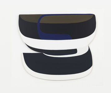 Joanna Pousette-Dart, 'Banded Painting #1', 2013-14