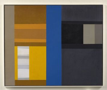 Harold Krisel, 'Blue Parade', 1960
