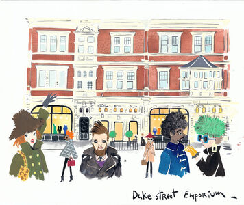 Konstantin Kakanias, 'The Transformation of Duke Street', 2015