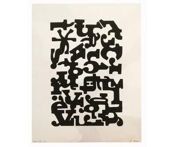 Clemente Padín, 'Texto III', 1968