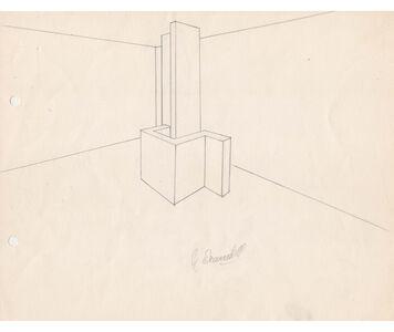 Noemi Escandell, 'Boceto para estructura Rectángulos y cuadrados', 1966