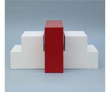 Noemi Escandell, 'Estructura variable con escalones y volumen rojo', 1966