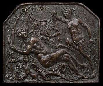 Andrea Briosco, called Riccio, 'A Satyr Uncovering a Nymph'