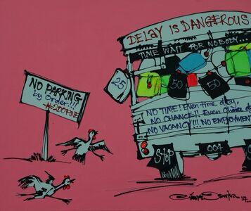 Diseye Tantua, 'Delay is Dangerous', 2014