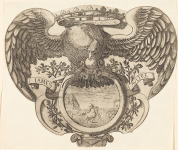 after Jacques Callot, 'Coat of Arms'