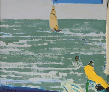 John Firth-Smith, 'Harbour with capsize', 1966
