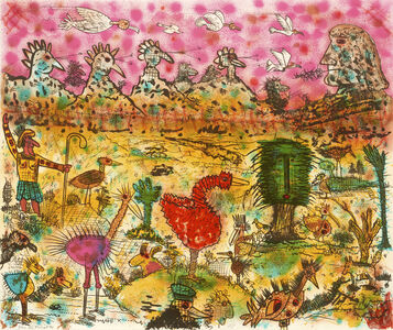 Roy De Forest, 'Birdland', 1994