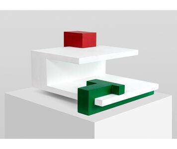 Noemi Escandell, 'Espacios Correspondientes (estructura variable de tres elementos)', 1967
