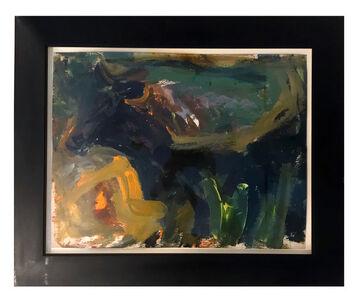 Elaine de Kooning, 'Bull', 1960