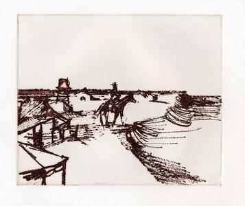 Sidney Nolan, 'Township', 1971