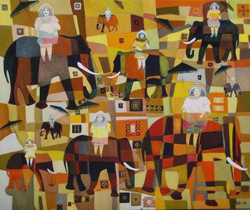 Ulla Wobst, 'HAREM EXCURSION', 2010