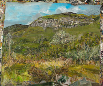 Nick Miller, 'Truck-view: craggs, birds and wire', 2019