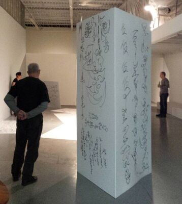 Panic in Toronto, installation view