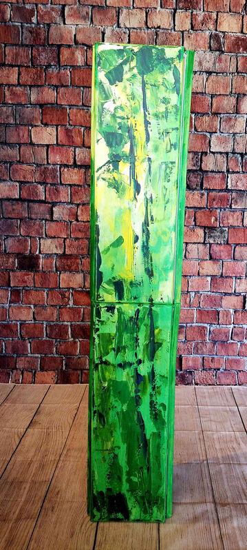 Vian Borchert, 'Evergreen', 2020, Sculpture, Acrylic on canvas panels, bG Gallery