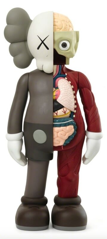 KAWS, '4 Foot Dissected Companion (Brown)', 2009, Sculpture, Cast vinyl resin, Remes Advisory