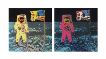 Sunday B. Morning, 'Moonwalk portfolio II.404 and II.405', 1987-2020
