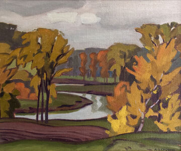 Alfred Joseph Casson, 'On the Humber', 1930