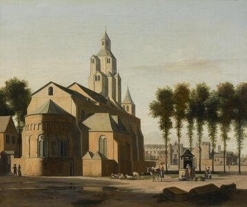 Gerrit Adriaensz. Berckheyde, 'Church of St. Cecilia, Cologne', ca. 1685